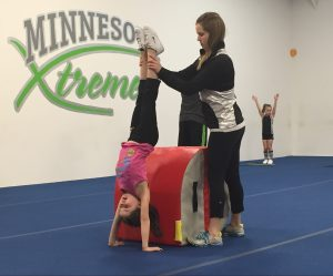 Tumbling Level 1 - Handstand
